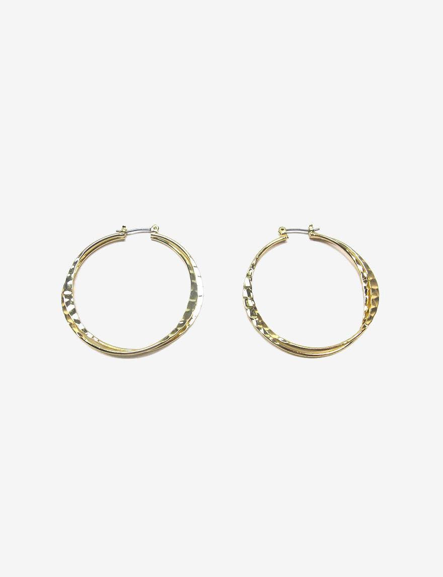 Signature Studio  Hoops Earrings Fashion Jewelry