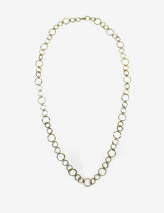 Signature Studio Single Row Hoops Necklace