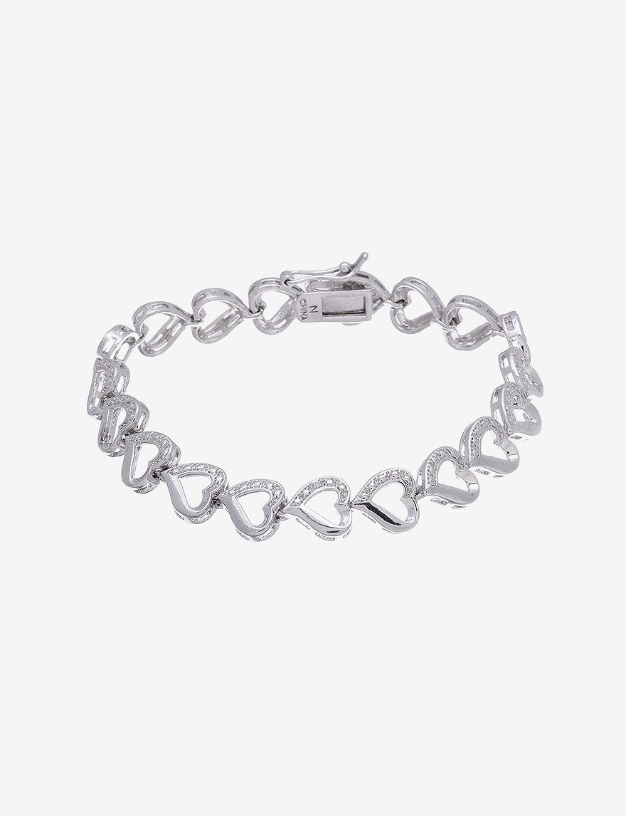 NES White Bracelets Fine Jewelry