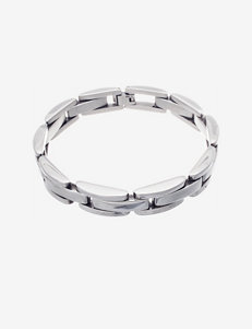NES Stainless Steel Link Bracelet – Men's