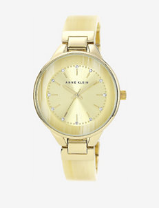 Anne Klein Horn Bangle Watch – Ladies
