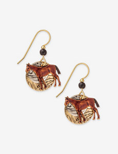 Silver Forest  Drops Earrings Fashion Jewelry