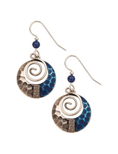 Silver Forest  Drops Earrings Fashion Jewelry