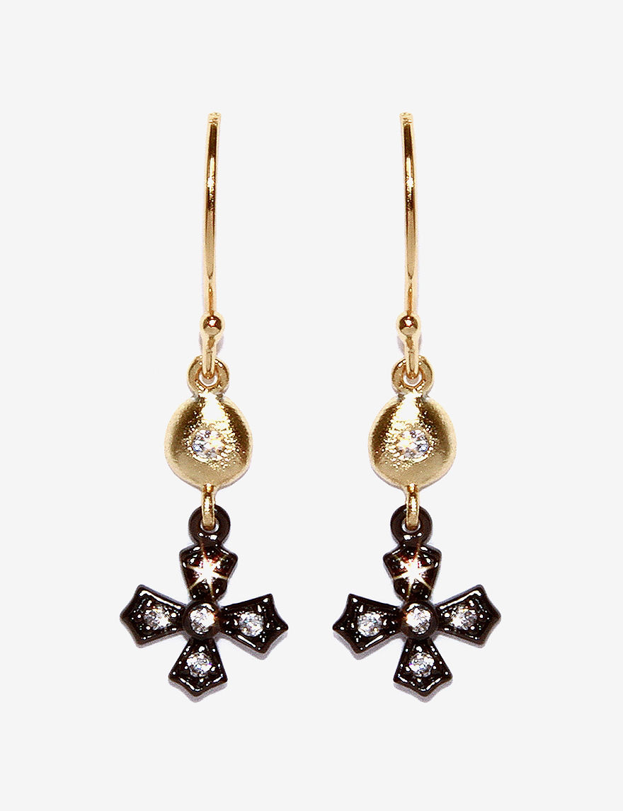 Athra Gold Drops Earrings Fine Jewelry