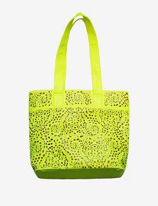Olivia Miller Laser Cut Out Tote Bag