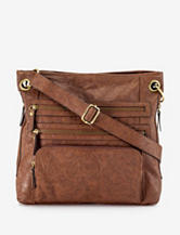 Bueno Triple Zip Crossbody Bag