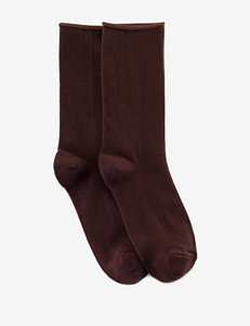 Hue Brown Socks