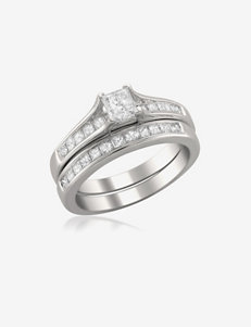 La4ve Diamonds White Rings Fine Jewelry