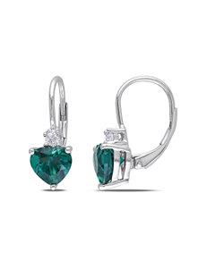 Sophia B  Drops Hoops Earrings Fine Jewelry
