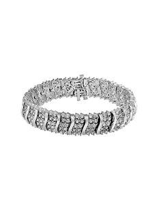 2 CT. T.W. Diamond Sterling Silver Bracelet