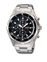 Casio Men's Silver-Tone Analog Sports Watch