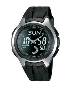 Casio Men's Black Digital Analog Classic Watch