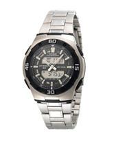 Casio Men's Silver-Tone Multi-Function Sports Watch