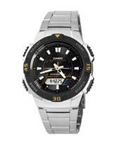 Casio Men's Silver-Tone Multi-Function Classic Watch