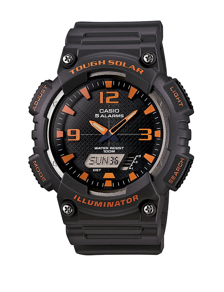 casio mens tough solar sports watch stage stores