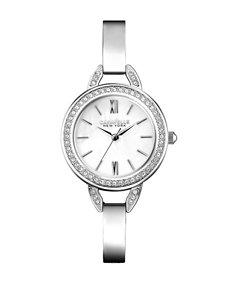 Caravelle New York by Bulova Silver-Tone Bracelet Watch – Ladies