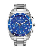 Caravelle New York by Bulova Silver-Tone Chronograph Watch – Men's