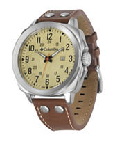 Columbia Brown Cornerstone LE Leather Watch