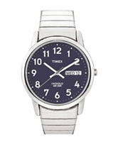 Timex Easy Reader Silver-Tone Analog Watch – Men's