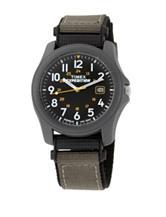 Timex Expedition Camper Black Analog Watch – Men's