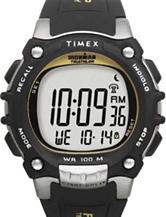 Timex Ironman 100-Lap Black Digital Watch – Men's
