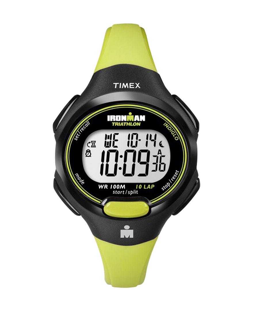 Timex Green Sport Watches