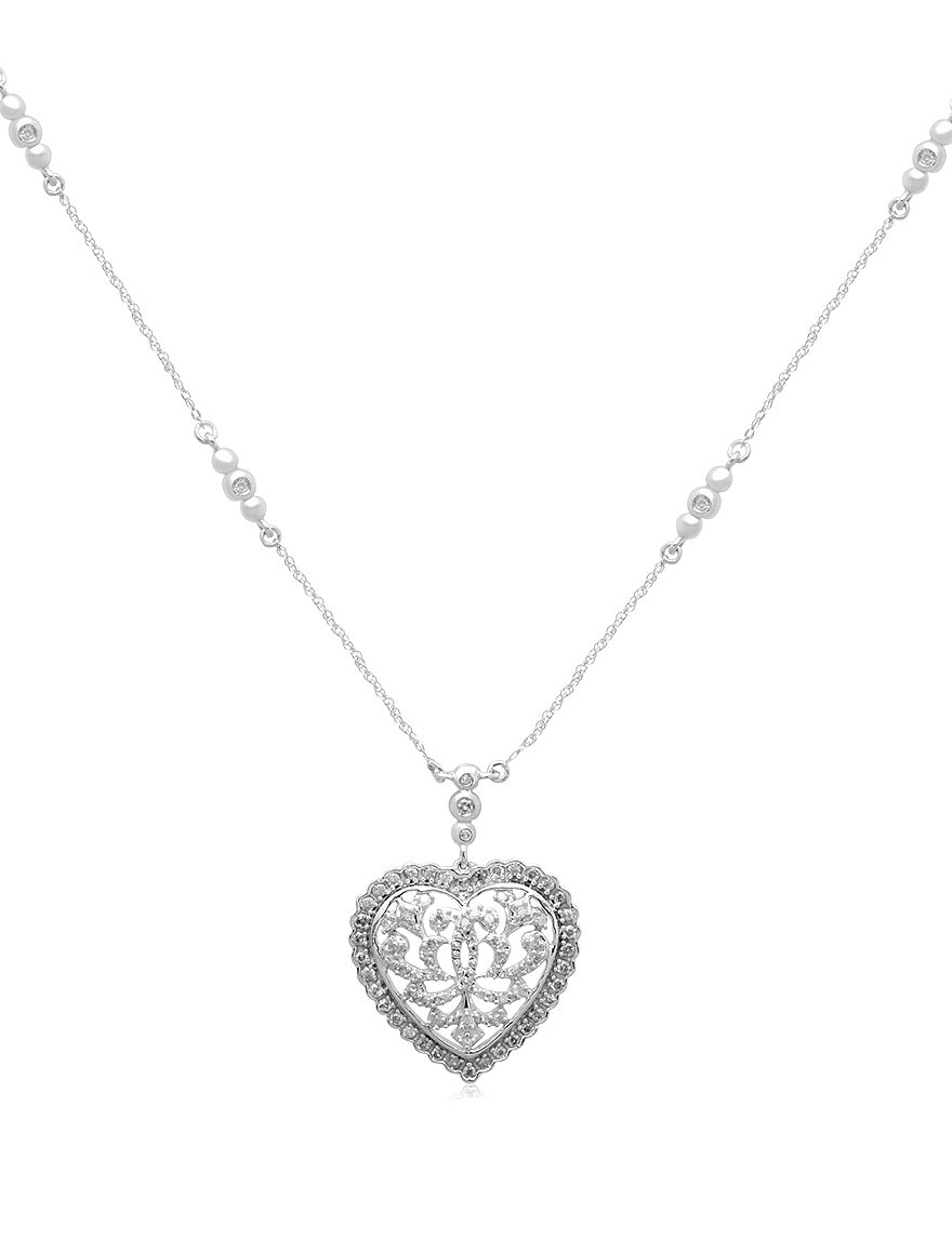 Renaissance White Gold Necklaces & Pendants Fine Jewelry