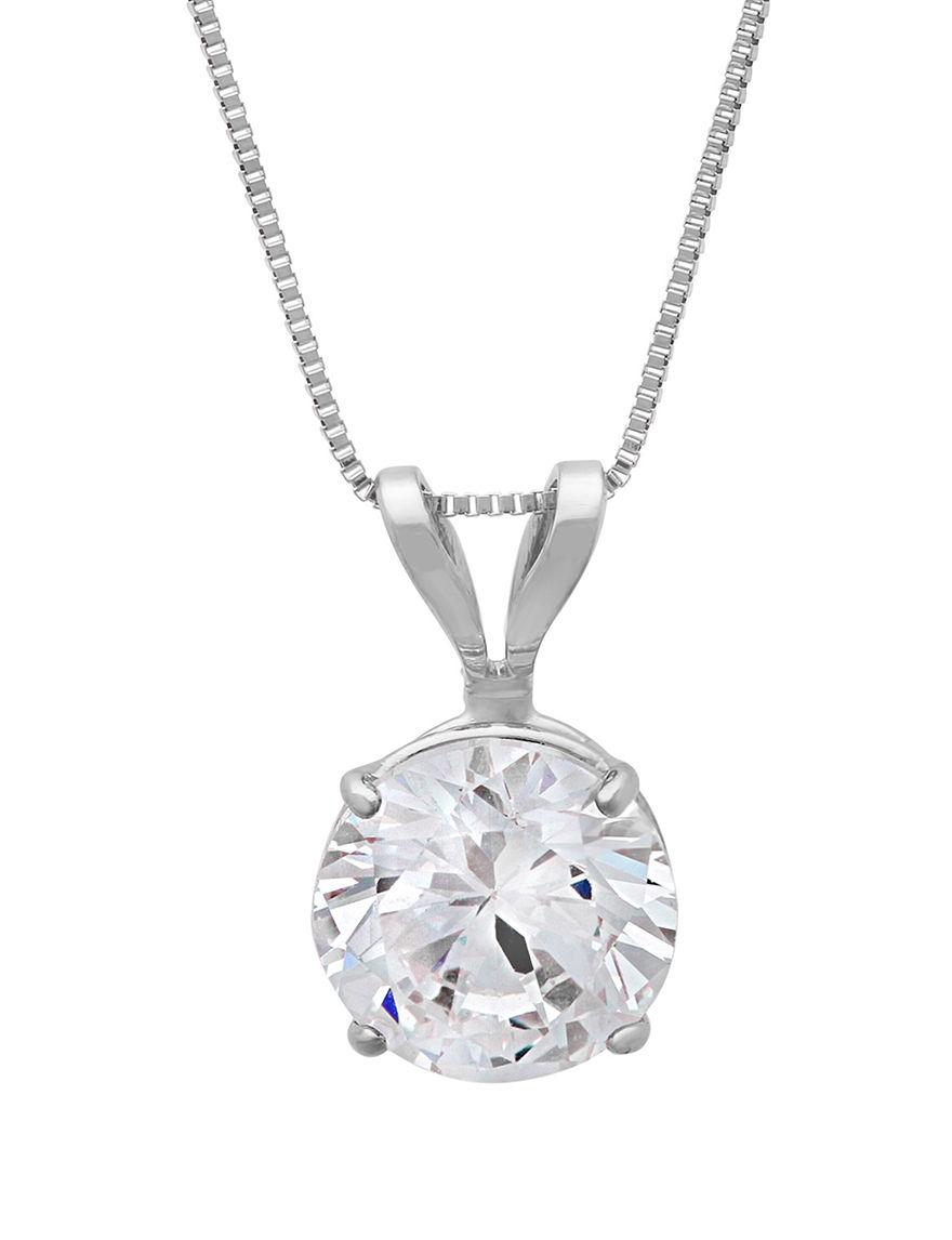 Max Color White Gold Necklaces & Pendants Fine Jewelry