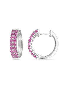 Sophia B  Hoops Earrings Fine Jewelry