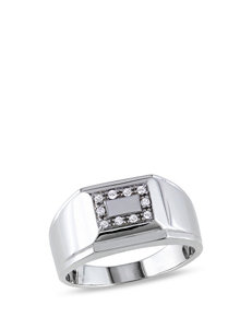 Concerto Diamonds Silver Rings