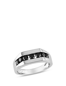 Moonlight Diamonds Silver Rings Fine Jewelry