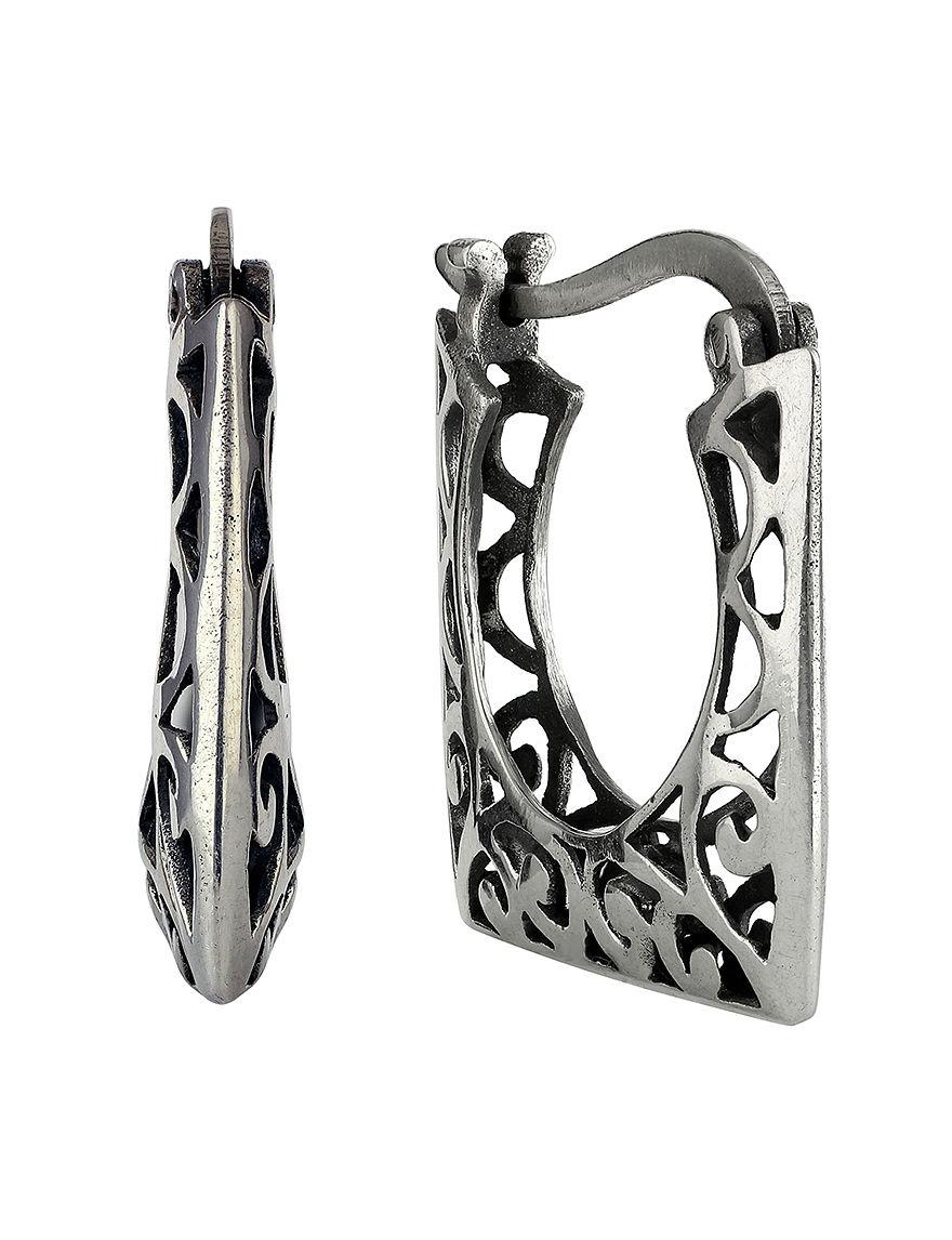 Sunstone  Hoops Earrings Fine Jewelry