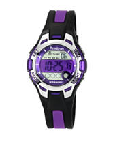 Armitron Purple Round Chronograph Sport Watch – Ladies