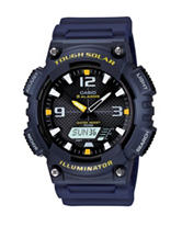 Casio Black Tough Solar Sport Watch – Men's