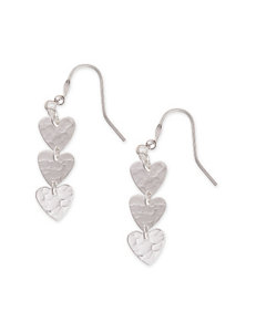 Cellini SIlver Drops Earrings Fine Jewelry
