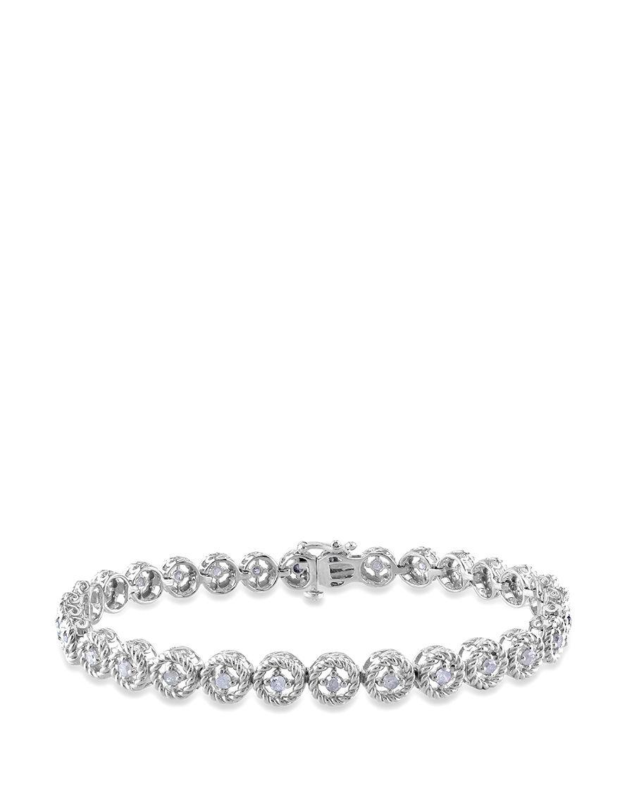 Concerto Diamonds Silver Bracelets Fine Jewelry