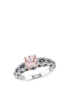 Blush Collection White Gold Rings Fine Jewelry