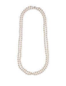 Hannah Faux Pearl Single Strand Necklace