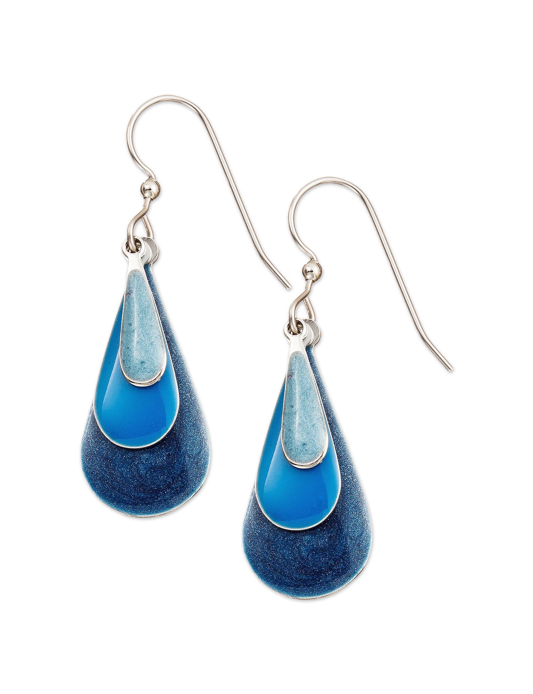 Silver Forest Multi Drops Earrings Fashion Jewelry