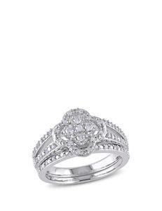 Concerto Diamonds Silver Rings
