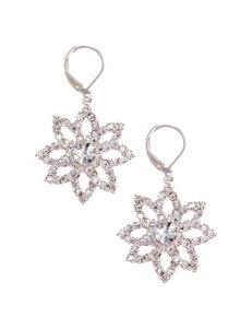 Via Roma Clear Drops Earrings Fashion Jewelry
