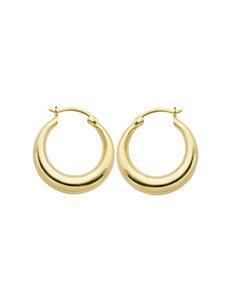 PAJ INC. Gold Hoops Earrings