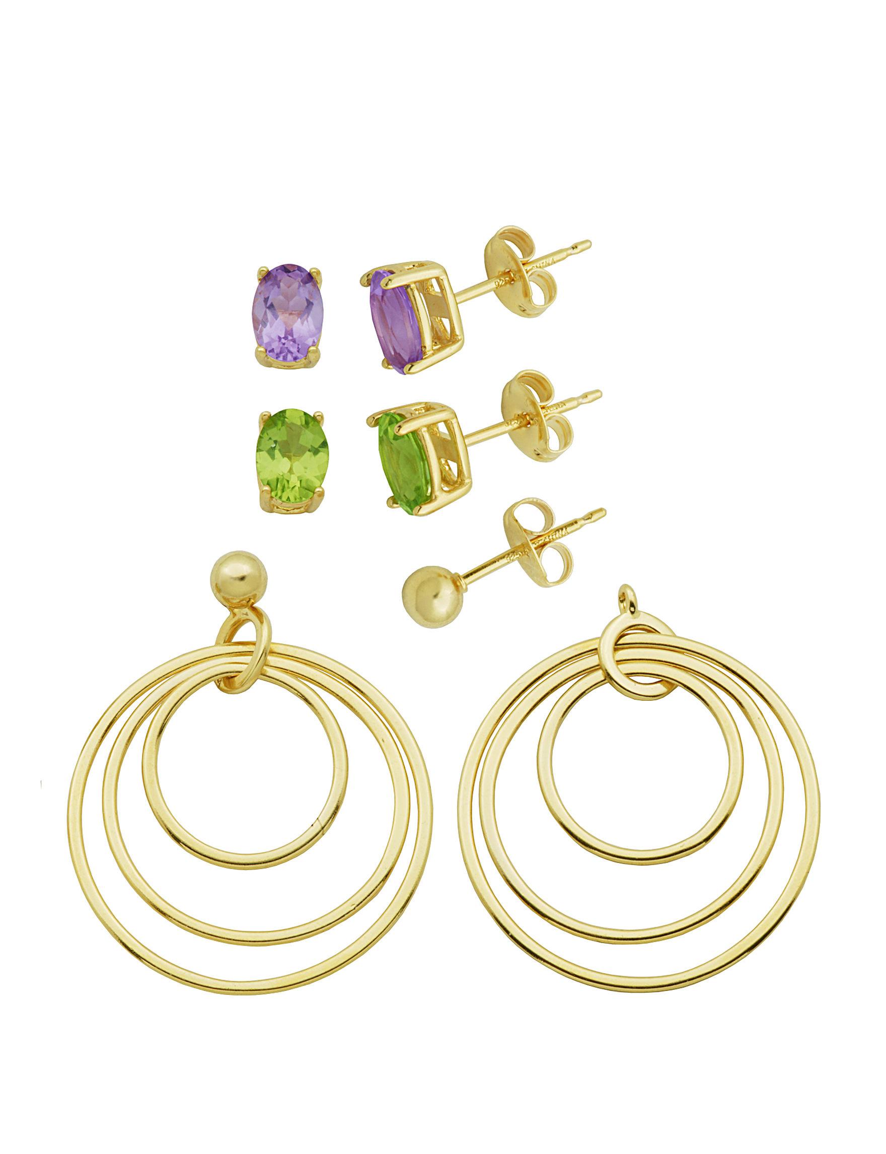PAJ INC.  Studs Earrings Fine Jewelry