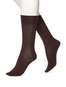 Hue Ultra Smooth Solid Color Socks