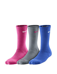 Nike® 3-pk. Elite Dri-Fit Crew Socks – Ladies