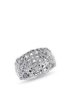1/3 CT. T.W. Diamond Sterling Silver Flower Ring