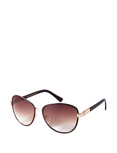 Vince Camuto Round Enamel Aviator Sunglasses – Ladies