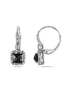 Moonlight Diamonds  Drops Earrings Fine Jewelry