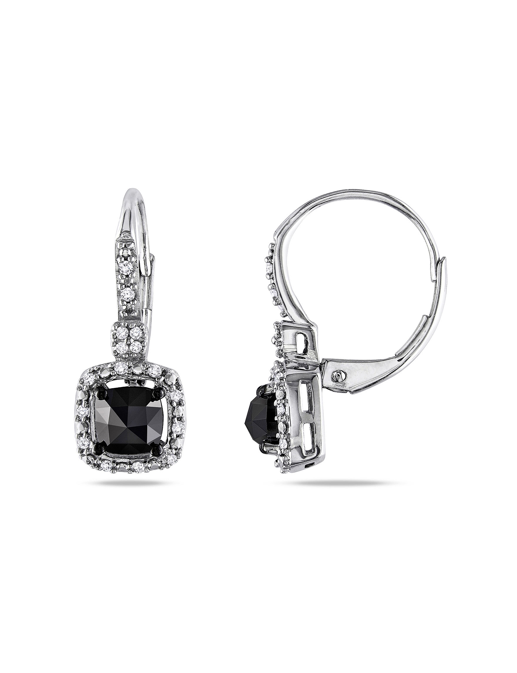Moonlight Diamonds  Drops Earrings Fine Jewelry