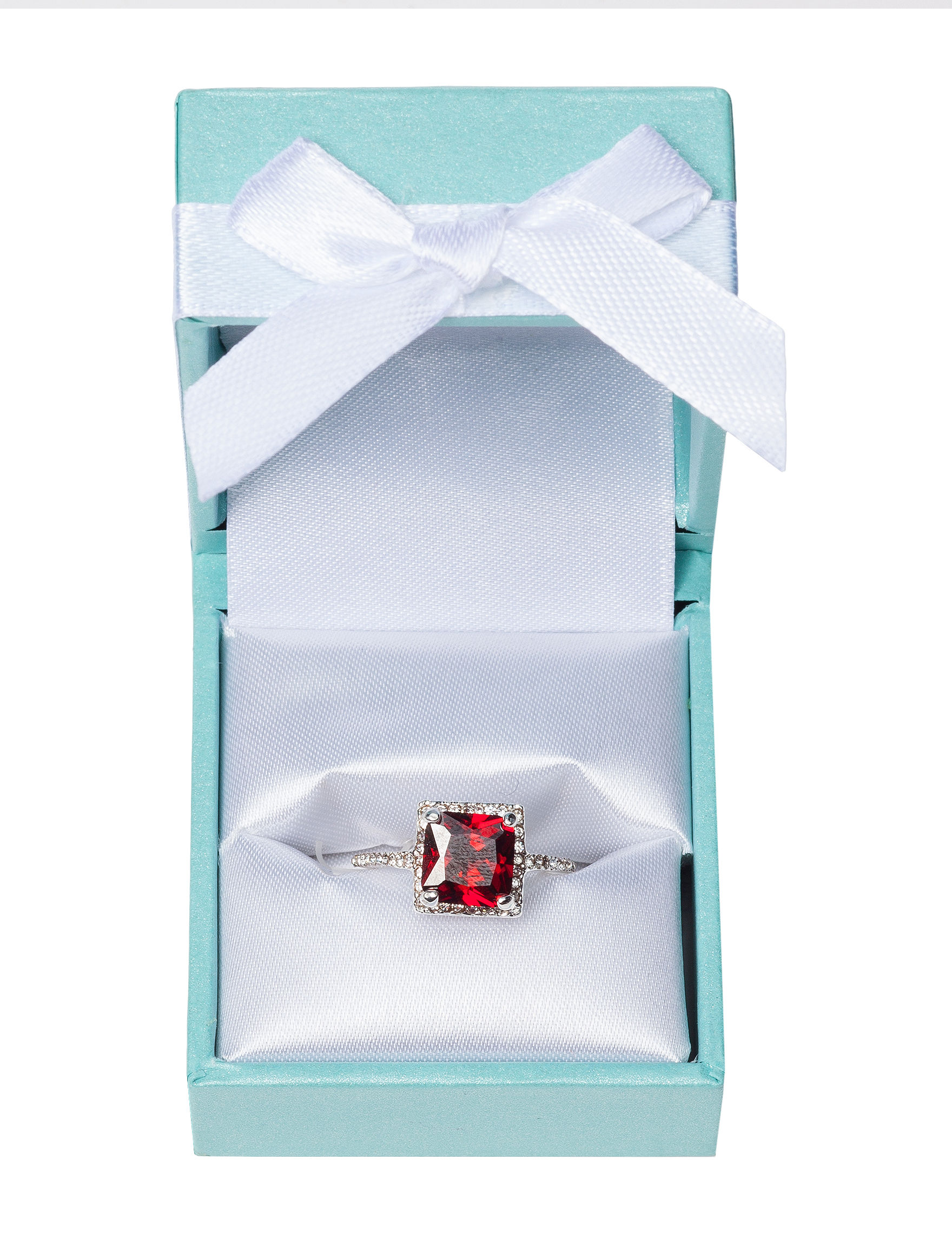 City by City Red Rings Fashion Jewelry
